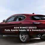 PORTE APERTE ALFA ROMEO STELVIO